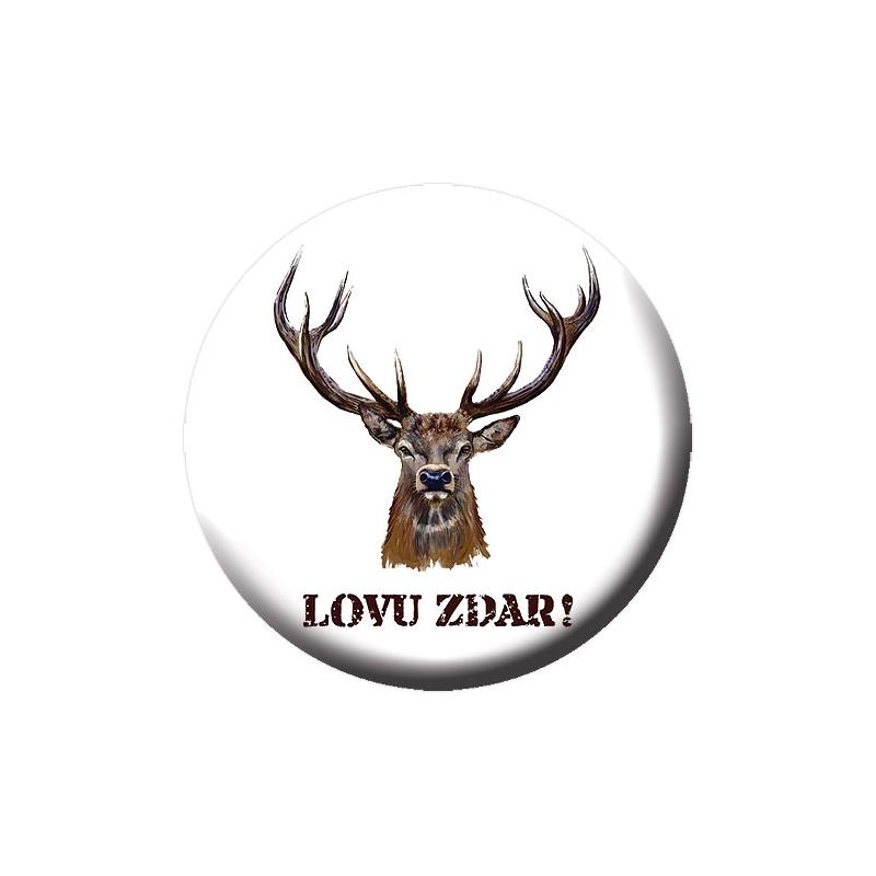 f4b147078 Odznak s otváračom a magnetom pre poľovníkov | TOPMYDLÁ