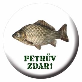 Odznak s otváračom a magnetom pre rybárov