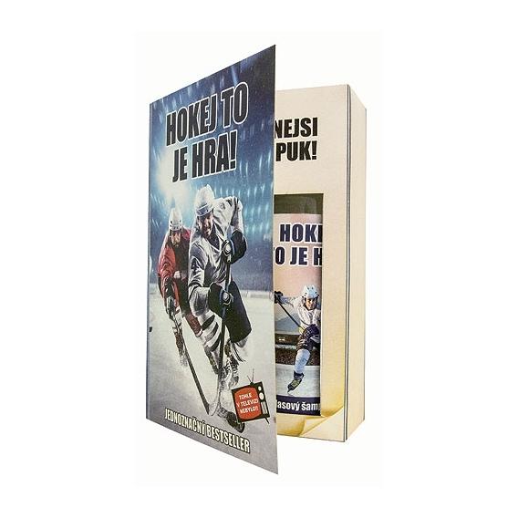 Bohemia Darčeky - darčekové balenie kozmetiky pre mužov - book - pro hockey player