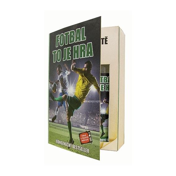 Bohemia Darčeky - darčekové balenie kozmetiky pre mužov - book - pro football player