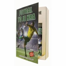 Bohemia Gifts - dárkové balení kosmetiky pro muže - kniha - pro fotbalistu