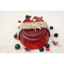 Glycerínové mydlo Čučoriedka, dekoračné