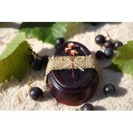 Glycerínové mydlo Hrozno tmavé, dekoračné