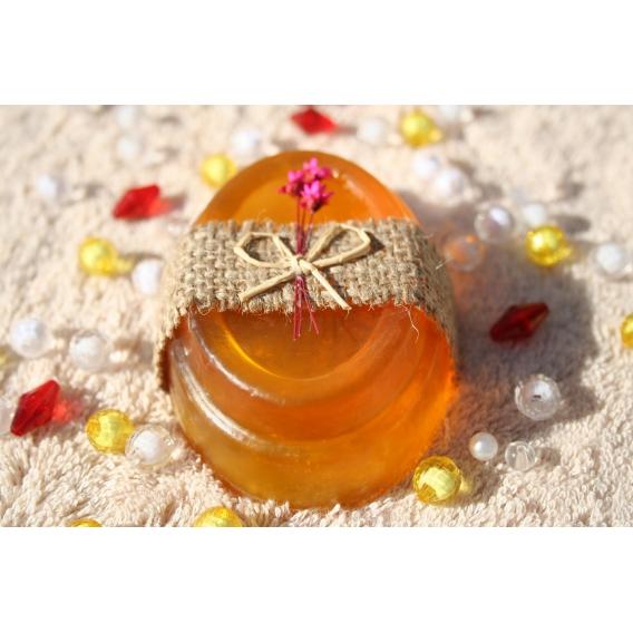 Glycerínové mydlo Litsea cubeba s osviežujúcou citrusovou vôňou, dekoračné