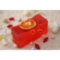 Glycerínové mydlo Pomaranč so sviežou sladkou vôňou, krájané
