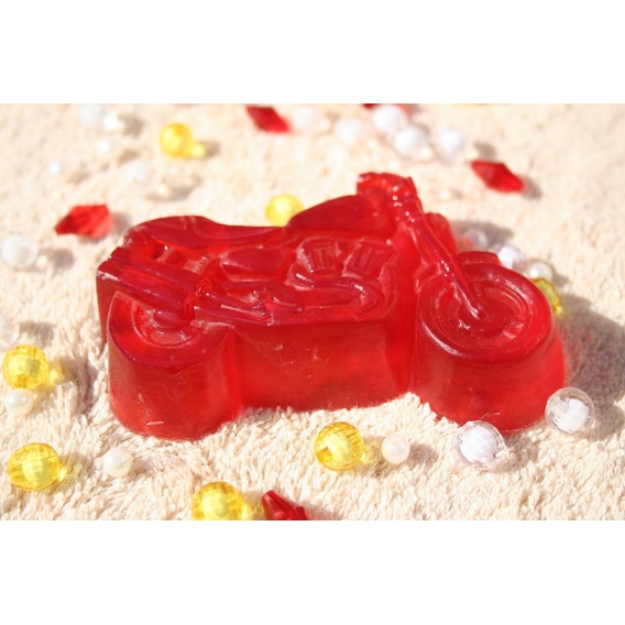 Glycerínové mydlo Motorka pre deti, rôzne druhy