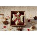 Glycerínové mydlo VLOČKA- biely čaj v krabičke