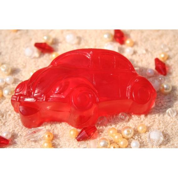 Glycerínové mydlo Autíčko pre deti s vôňou čučoriedky