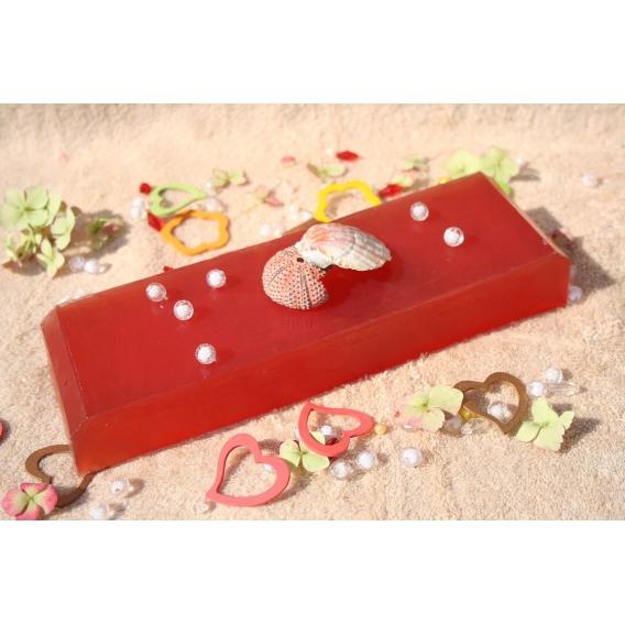 Glycerínové mydlo Červený melón pre výživu pokožky, 800g