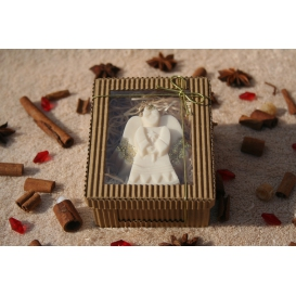 Glycerínové mydlo ANJELIK- biely čaj v krabičke