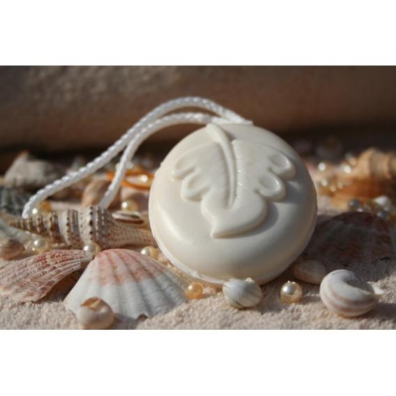 Glycerínové mydlo Biely čaj so šnúrkou