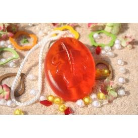 Glycerínové mydlo Pomaranč so sviežou sladkou vôňou so šnúrkou