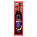 Darčekové víno červené Merlot  - zatracene pekný večer 750 ml