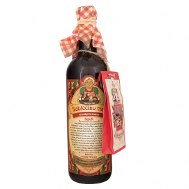 Babičkine maceračné víno červené - šípka 750 ml