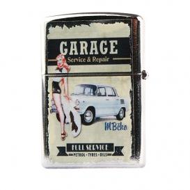 Retro zapaľovač - garage BZ3