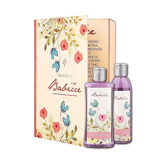 Darčekové balenie - Rozprávka o babičke - sprchový gél 200 ml, olejová kúpeľ 200 ml
