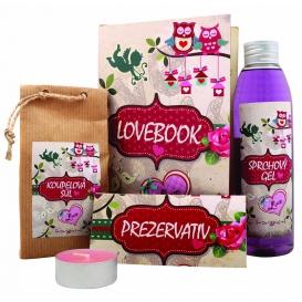 """Lovebook - darčeková """"kniha"""" pre zamilovaných"""