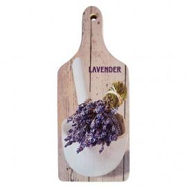 Dekoračný lopárik s potlačou - Lavender