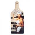 Dekoračný lopárik s potlačou pre ženy - Pomôžem ti v kuchyni