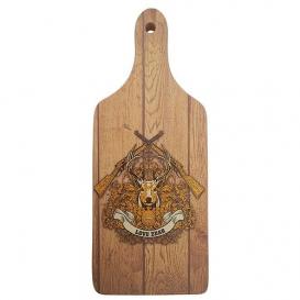Dekoračný lopárik s potlačou pre poľovníka - Lovu zdar