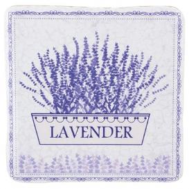 Dekoračná kachlička - Lavender kvetináč