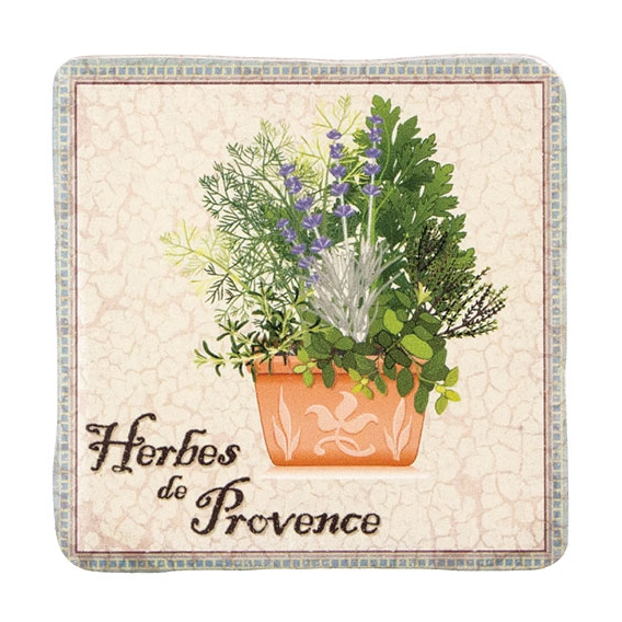 Dekoračná kachlička - Herbes de Provence