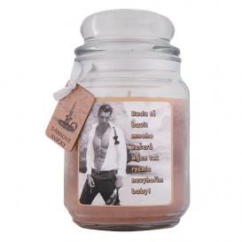 Darčeková sviečka - Budem ťa baviť… 510 g