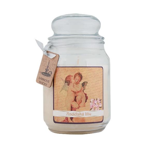 Darčeková sviečka - Na krídlach anjelov 510 g