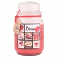 Darčeková sviečka - Love 510 g