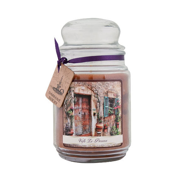 Darčeková sviečka - Vafle La provence 510 g