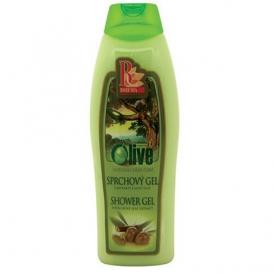 Krémový sprchový gél 500 ml - oliva