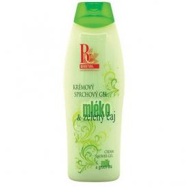 Krémový sprchový gél 500 ml - Mlieko a zelený čaj