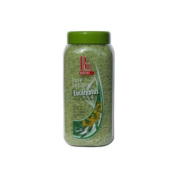 Bylinná kúpeľová soľ 900 g - eukalyptus