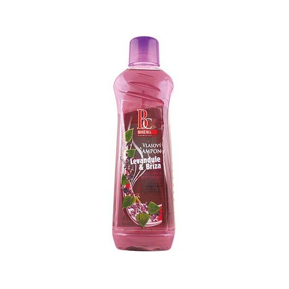 Vlasový šampón 1000 ml - breza a levanduľa