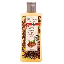 Krémový Sprchový gél s kofeínom a olivovým olejom 250 ml