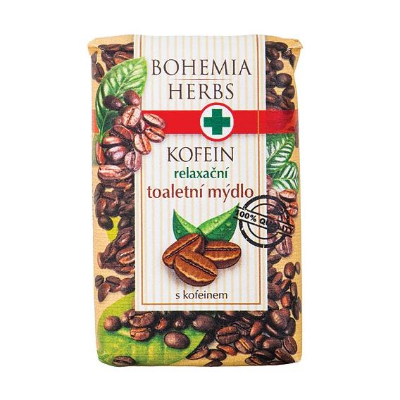 Toaletné mydlo s kofeínom a olivovým olejom 100 g