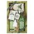 Darčekové balenie Cannabis Premium - sprchový gél 200 ml, vlasový šampón 200 ml, soľ do kúpeľa 150 g, mydlo 30 g