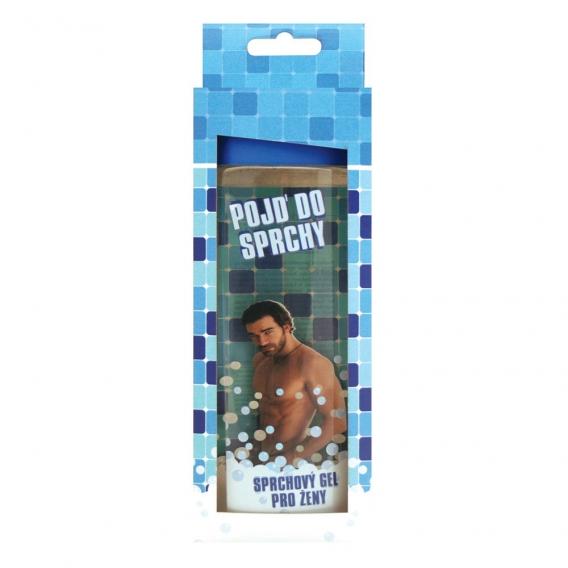 Darčekový sprchový gél 300 ml s 3D etiketou pre ženu v krabičke - oceanic 30O