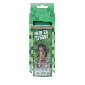 Darčekový sprchový gél 300 ml s 3D etiketou pre mužov - zelený čaj