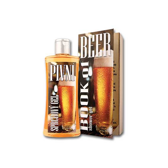 Darčekový pivný sprchový gél 250 ml - pivná kniha
