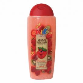 Detský jahodový krémový sprchový gél 300 ml