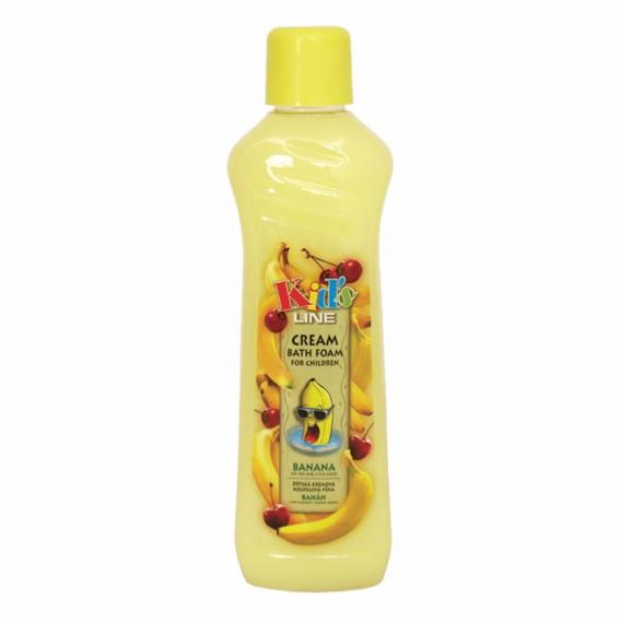 Detská krémová banánová kúpeľová pena 1000 ml