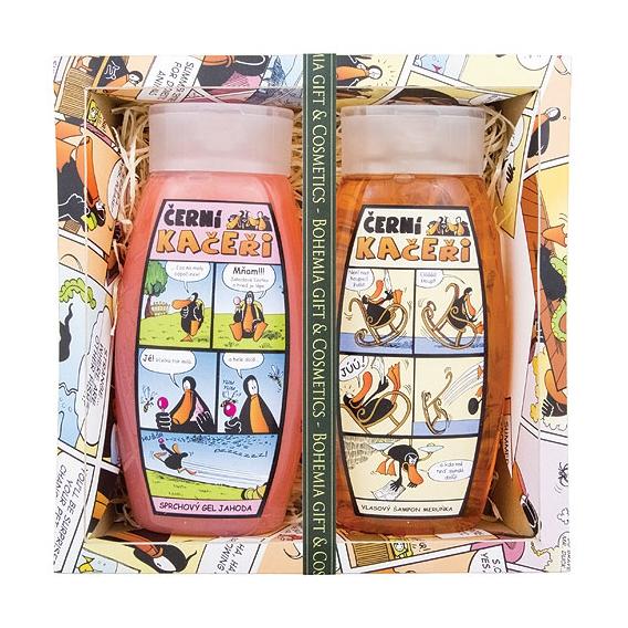 Čierny káčeri - Darčekové balenie - gél + šampón