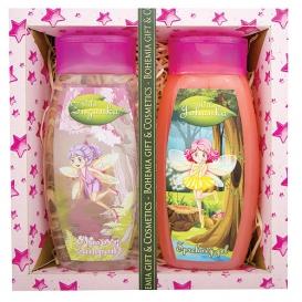 Detské darčekové balenie Víly - sprchový gél 250 ml, vlasový šampón 250 ml