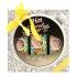 """Darčekové balenie """"HOT CHOCOLATE SPA"""" - pena do kúpeľa 250 ml, sprchový gél 200 ml, vlasový šampón 200 ml"""