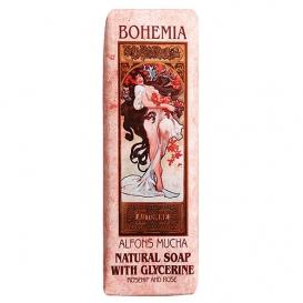 Toaletné mydlo s extraktmi šípok a ruže - Art nouveau