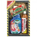 Darčekové balenie pre muža - sprchový gél 500 ml, sprchový gél 200 ml, darčekový kondóm
