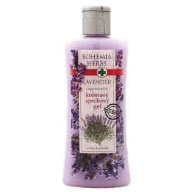 Krémový sprchový gél s bylinným extraktom a vôňou levandule 250 ml