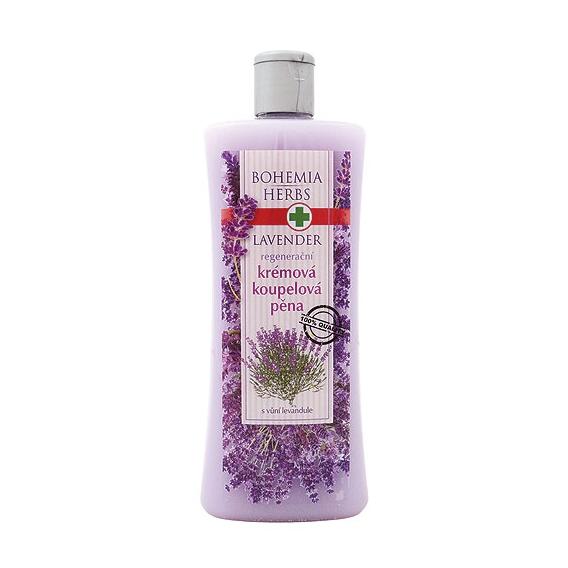 Krémová pena do kúpeľa s bylinným extraktom a vôňou levandule 500 ml