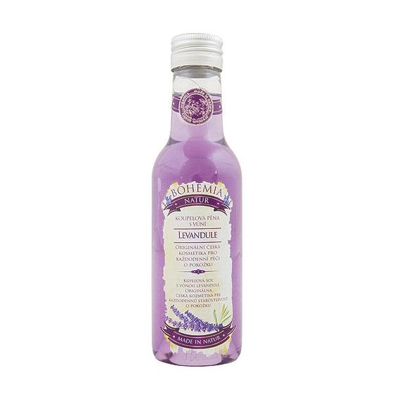 Lavender Premium - pena do kúpeľa s bylinným extraktom a vôňou levandule 200 ml